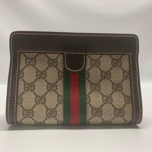 Authentic Vintage Gucci Small Cosmetic Bag
